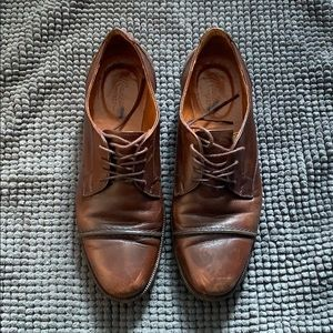 Madewell brown oxfords 5.5